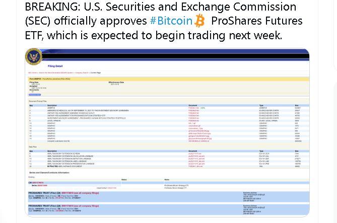 Bitcoin ETF Menerima Persetujuan dari SEC – Harga BTC Melonjak